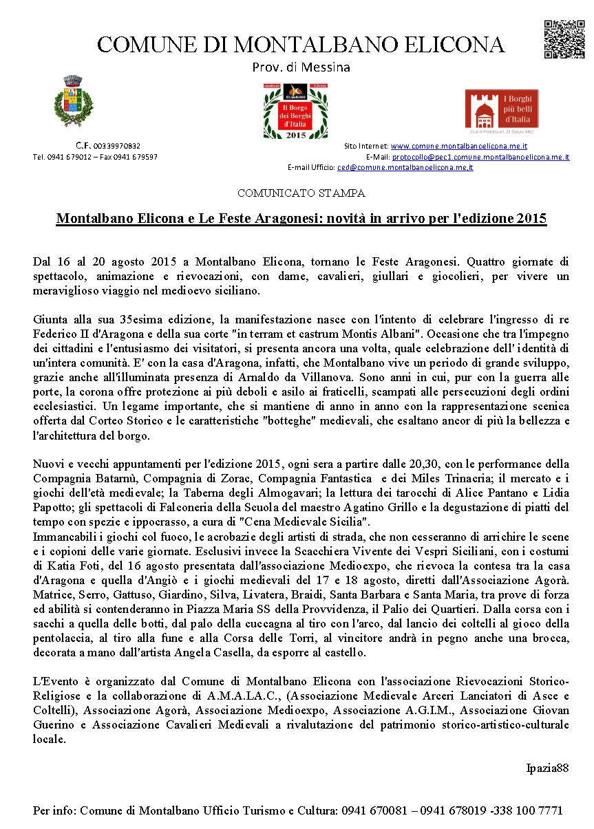 Montalbano_Elicona_ComunicatoStampa_Agosto_2015